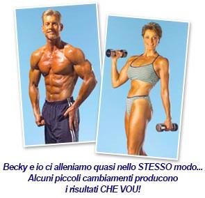 Steve and Becky